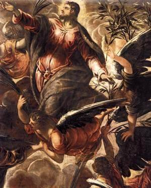 Jacopo Tintoretto (Robusti) - The Ascension (detail 2)