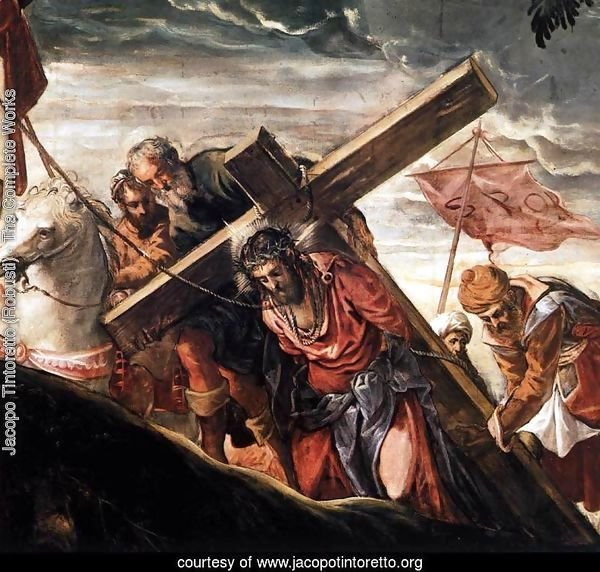 The Ascent to Calvary (detail)