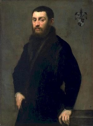 Jacopo Tintoretto (Robusti) - Young Man from the Renialme Family
