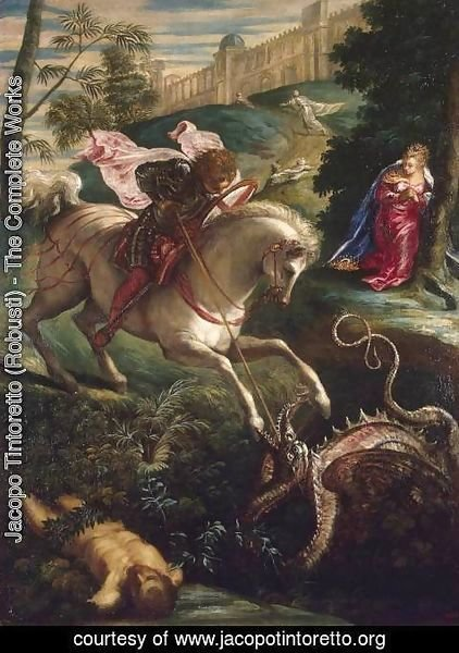 Jacopo Tintoretto (Robusti) - St George