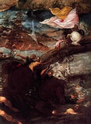The Conversion of Saul (detail)