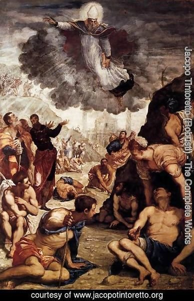Jacopo Tintoretto (Robusti) - The Miracle of St Augustine 2