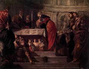 Jacopo Tintoretto (Robusti) - The Presentation of Christ in the Temple 2