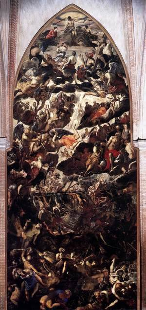 Jacopo Tintoretto (Robusti) - The Last Judgment