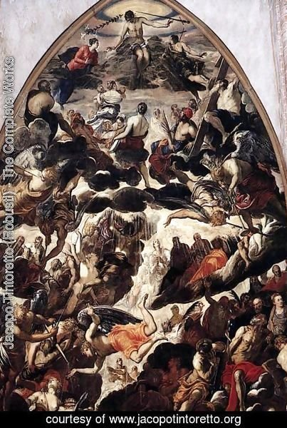 Jacopo Tintoretto (Robusti) - The Last Judgment (detail)