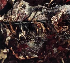 Jacopo Tintoretto (Robusti) - The Last Judgment (detail) 2