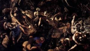 Jacopo Tintoretto (Robusti) - The Last Judgment (detail) 3