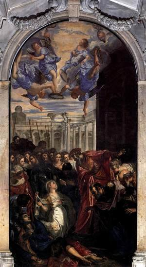 Jacopo Tintoretto (Robusti) - The Miracle of St Agnes 2