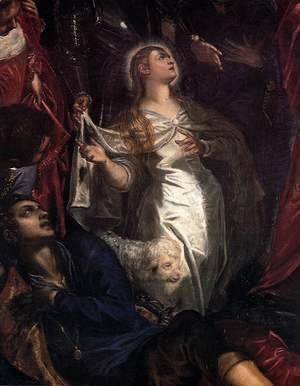 Jacopo Tintoretto (Robusti) - The Miracle of St Agnes (detail)