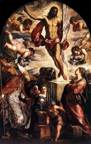Jacopo Tintoretto (Robusti) - The Resurrection of Christ 4
