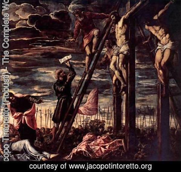 Jacopo Tintoretto (Robusti) - The Crucifixion of Christ