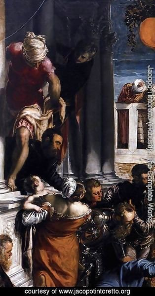 Jacopo Tintoretto (Robusti) - The Miracle of St Mark Freeing the Slave (detail) 2