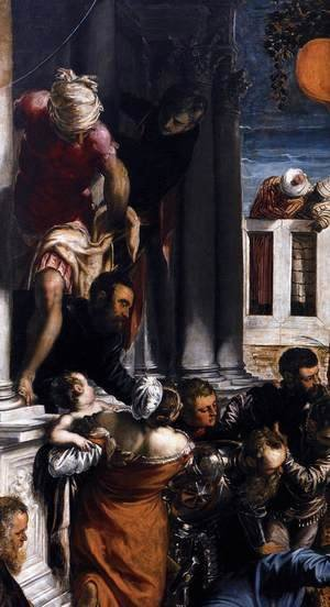 The Miracle of St Mark Freeing the Slave (detail) 2