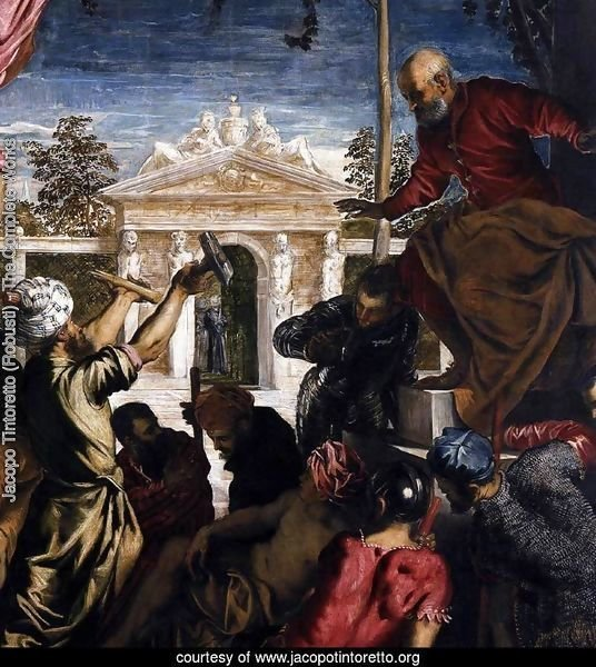 The Miracle of St Mark Freeing the Slave (detail) 3
