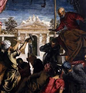 Jacopo Tintoretto (Robusti) - The Miracle of St Mark Freeing the Slave (detail) 3