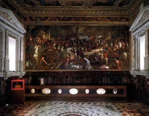 Jacopo Tintoretto (Robusti) - The Sala dell'Albergo