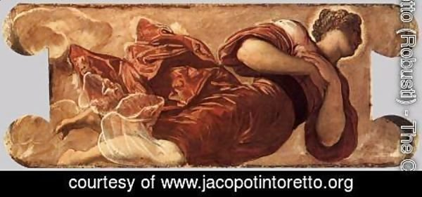Jacopo Tintoretto (Robusti) - Female figure 3