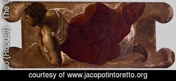 Jacopo Tintoretto (Robusti) - Female figure 4
