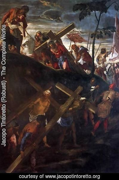 Jacopo Tintoretto (Robusti) - The Ascent to Calvary 2