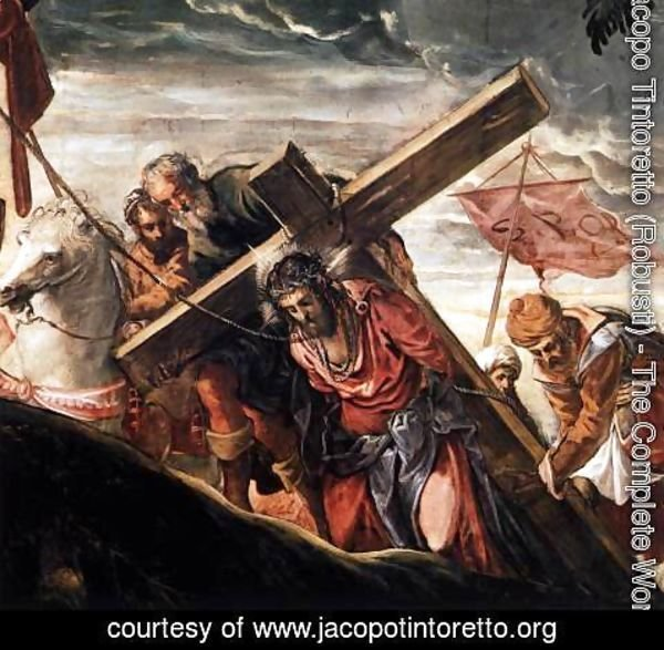 Jacopo Tintoretto (Robusti) - The Ascent to Calvary (detail) 2