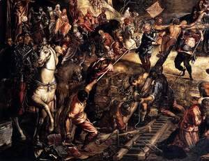 Jacopo Tintoretto (Robusti) - The Crucifixion (detail)