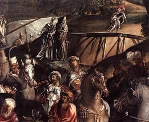 Jacopo Tintoretto (Robusti) - The Crucifixion (detail) 6