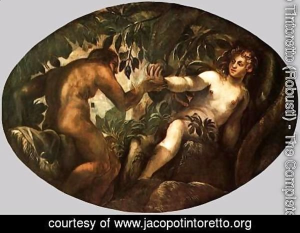 Jacopo Tintoretto (Robusti) - The Fall of Man 3