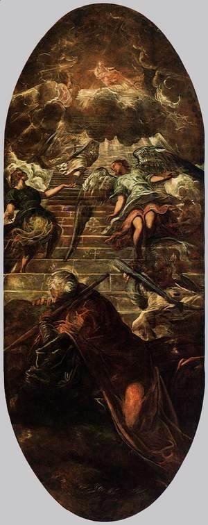 Jacopo Tintoretto (Robusti) - Jacob's Ladder 2