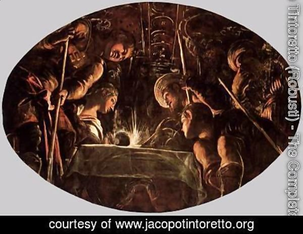 Jacopo Tintoretto (Robusti) - The Passover 2