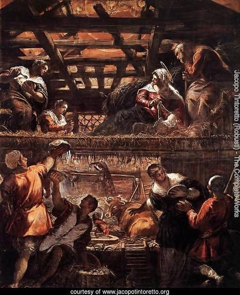 The Adoration of the Shepherds 2
