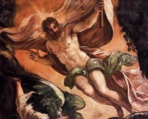 Jacopo Tintoretto (Robusti) - The Resurrection of Christ (detail)