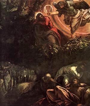 Jacopo Tintoretto (Robusti) - The Prayer in the Garden (detail) 3