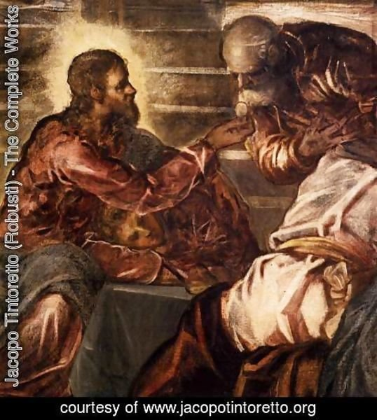 Jacopo Tintoretto (Robusti) - The Last Supper (detail) 2