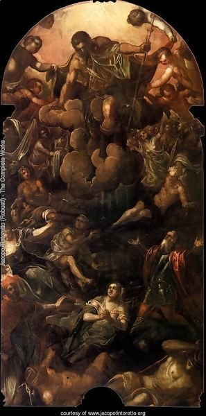 The Apparition of St Roch