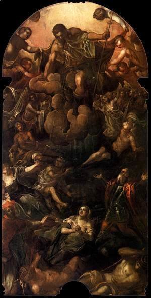 Jacopo Tintoretto (Robusti) - The Apparition of St Roch