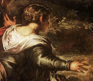 Jacopo Tintoretto (Robusti) - The Raising of Lazarus (detail)