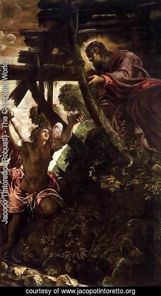 Jacopo Tintoretto (Robusti) - The Temptation of Christ 2