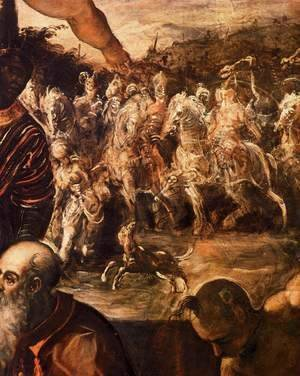 Jacopo Tintoretto (Robusti) - The Adoration of the Magi (detail)
