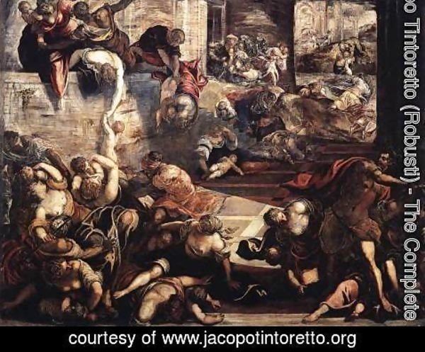 Jacopo Tintoretto (Robusti) - The Massacre of the Innocents (detail)