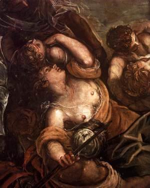 Jacopo Tintoretto (Robusti) - The Massacre of the Innocents (detail) 2