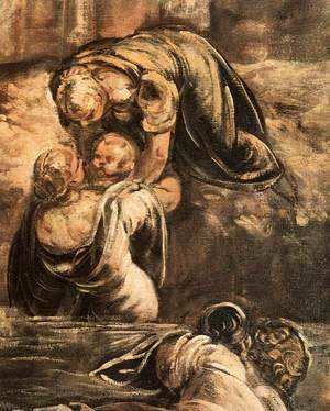 Jacopo Tintoretto (Robusti) - The Massacre of the Innocents (detail) 3