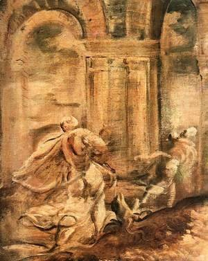 Jacopo Tintoretto (Robusti) - The Massacre of the Innocents (detail) 4