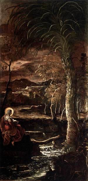 Jacopo Tintoretto (Robusti) - St Mary of Egypt 2