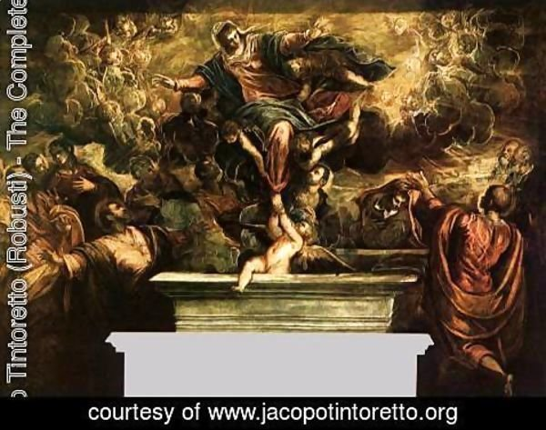 Jacopo Tintoretto (Robusti) - The Assumption of the Virgin 2