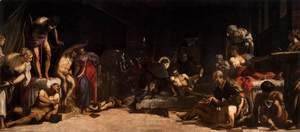 Jacopo Tintoretto (Robusti) - St Roch in the Hospital