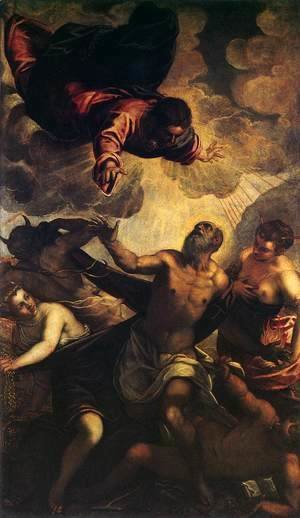 Jacopo Tintoretto (Robusti) - The Temptation of St Anthony 2