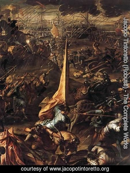 Jacopo Tintoretto (Robusti) - Conquest of Zara 2