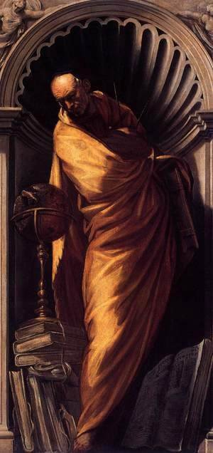 Jacopo Tintoretto (Robusti) - A Philosopher