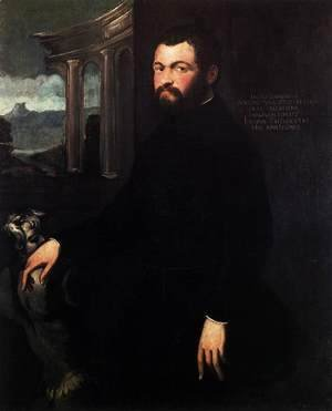 Jacopo Tintoretto (Robusti) - Portrait of Jacopo Sansovino 2