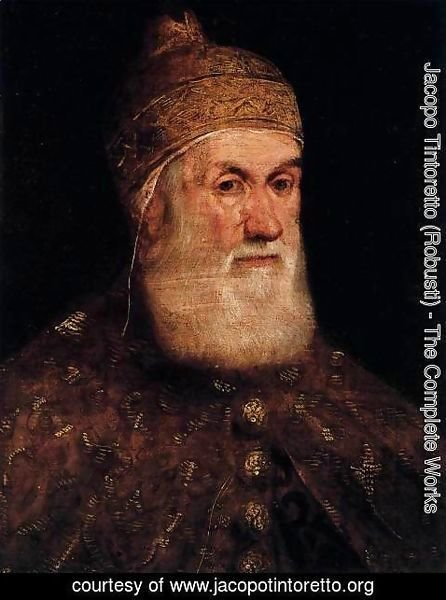 Jacopo Tintoretto (Robusti) - Portrait of Doge Girolamo Priuli 2